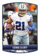 2018 Panini NFL Stickers Collection #232 Ezekiel Elliott Dallas Cowboys Official Football Sticker