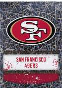 2018 Panini NFL Stickers Collection #409 San Francisco 49ers Logo San Francisco 49ers Foil Official Football Sticker