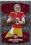 2018 Panini NFL Stickers Collection #410 Jimmy Garoppolo San Francisco 49ers Foil Official Football Sticker