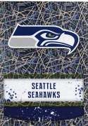 2018 Panini NFL Stickers Collection #422 Seattle Seahawks Logo Seattle Seahawks Foil Official Football Sticker