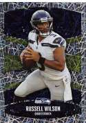 2018 Panini NFL Stickers Collection #423 Russell Wilson Seattle Seahawks Foil Official Football Sticker