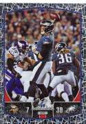 2018 Panini NFL Stickers Collection #443 Nick Foles Philadelphia Eagles NFC Championship Game Official Football Sticker