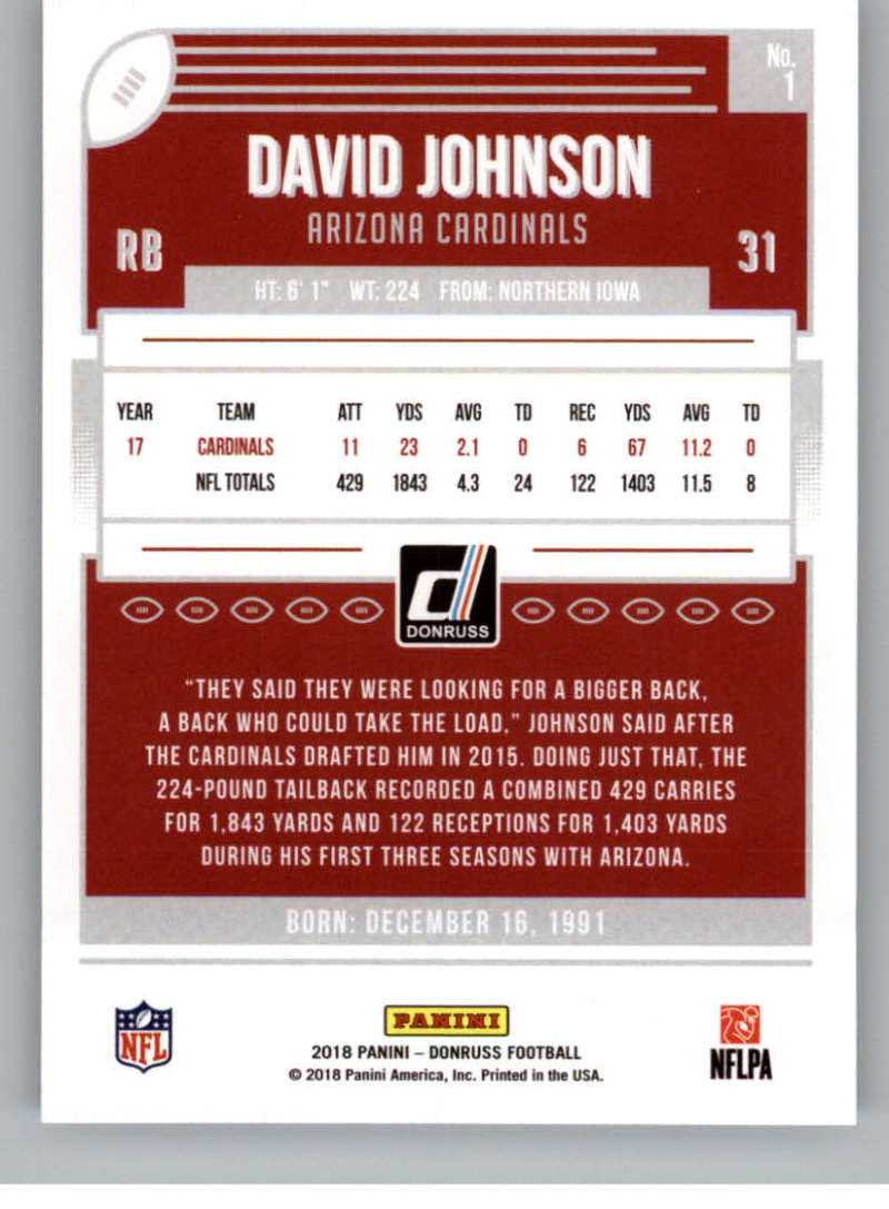 2018-Donruss-Football-Card-Singles-NFL-You-Pick-1-150 thumbnail 3