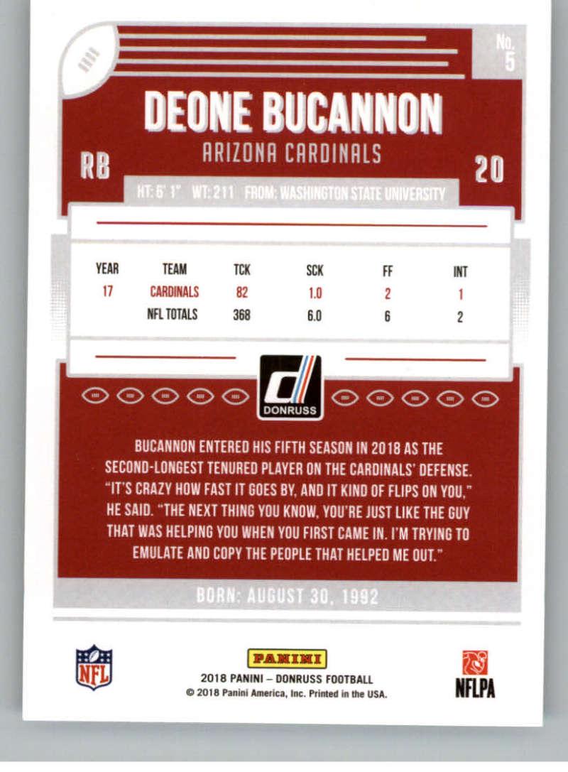 2018-Donruss-Football-Card-Singles-NFL-You-Pick-1-150 thumbnail 11