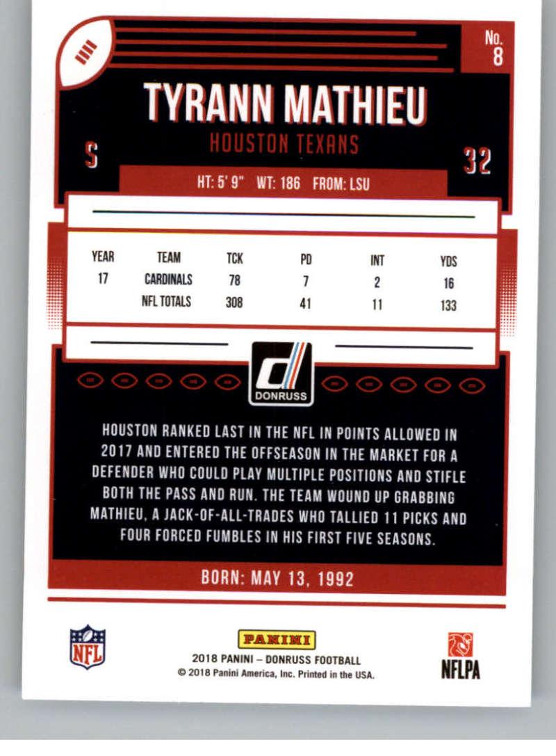 2018-Donruss-Football-Card-Singles-NFL-You-Pick-1-150 thumbnail 17