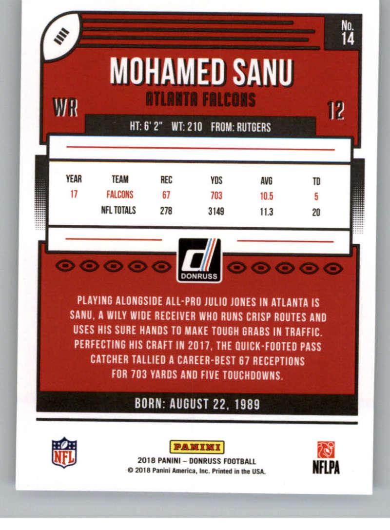 2018-Donruss-Football-Card-Singles-NFL-You-Pick-1-150 thumbnail 27