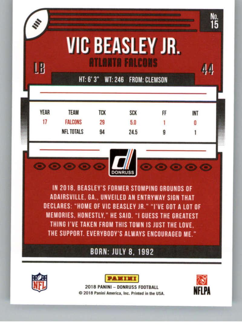 2018-Donruss-Football-Card-Singles-NFL-You-Pick-1-150 thumbnail 29