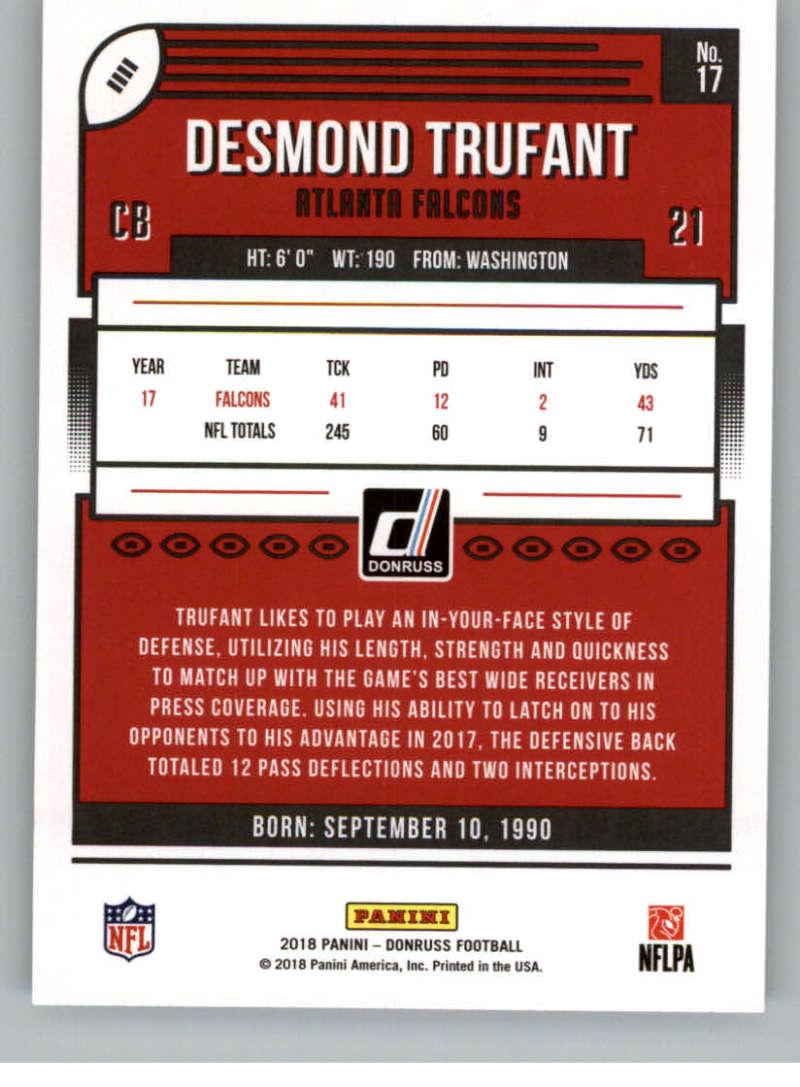 2018-Donruss-Football-Card-Singles-NFL-You-Pick-1-150 thumbnail 33