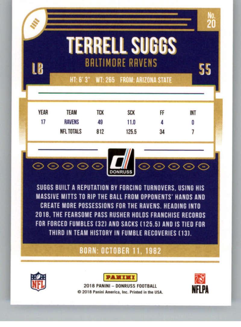 2018-Donruss-Football-Card-Singles-NFL-You-Pick-1-150 thumbnail 39