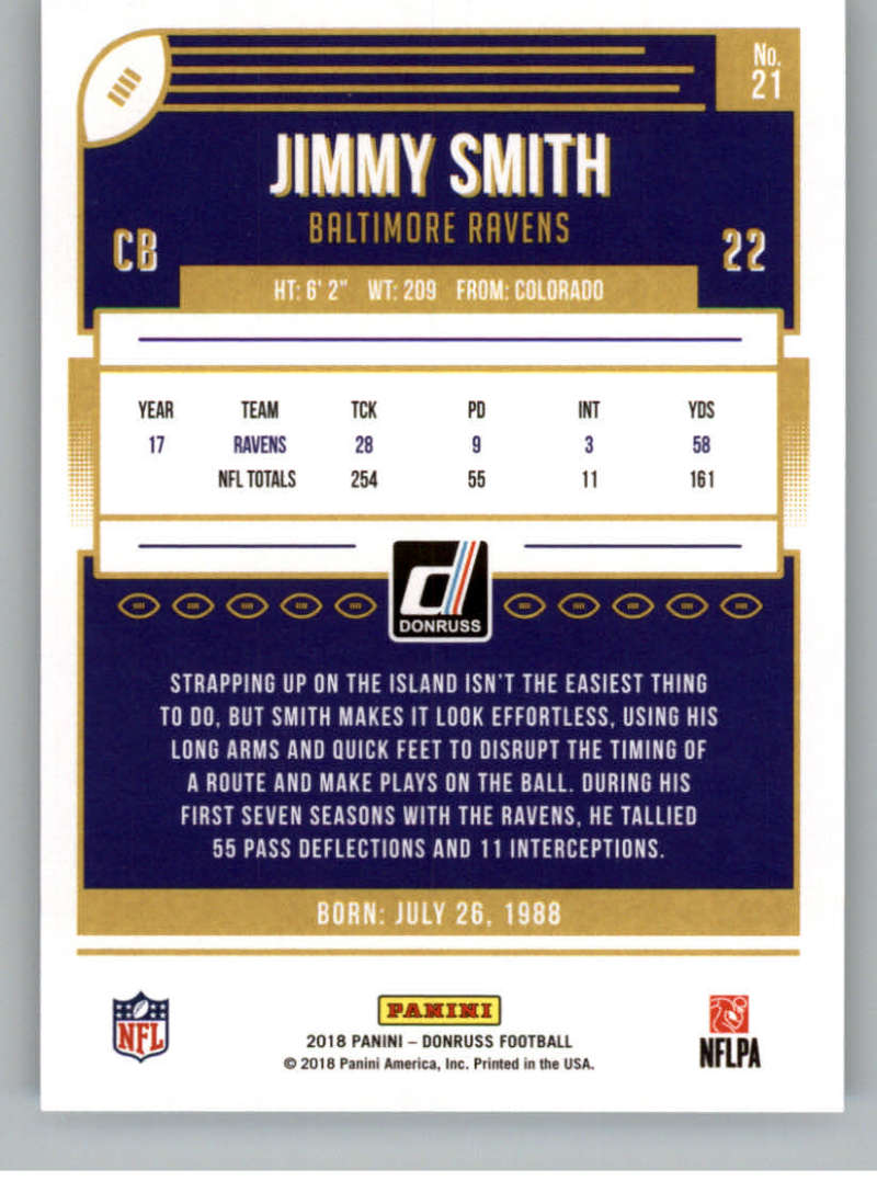 2018-Donruss-Football-Card-Singles-NFL-You-Pick-1-150 thumbnail 41