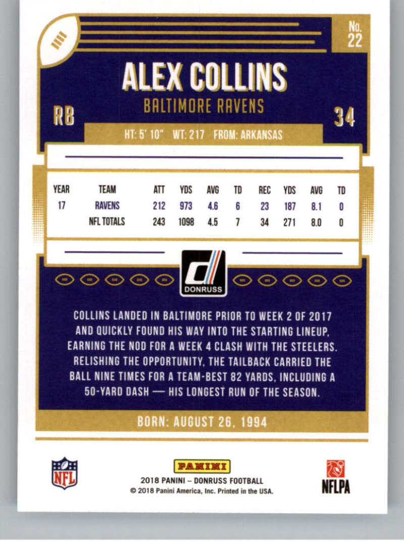 2018-Donruss-Football-Card-Singles-NFL-You-Pick-1-150 thumbnail 43