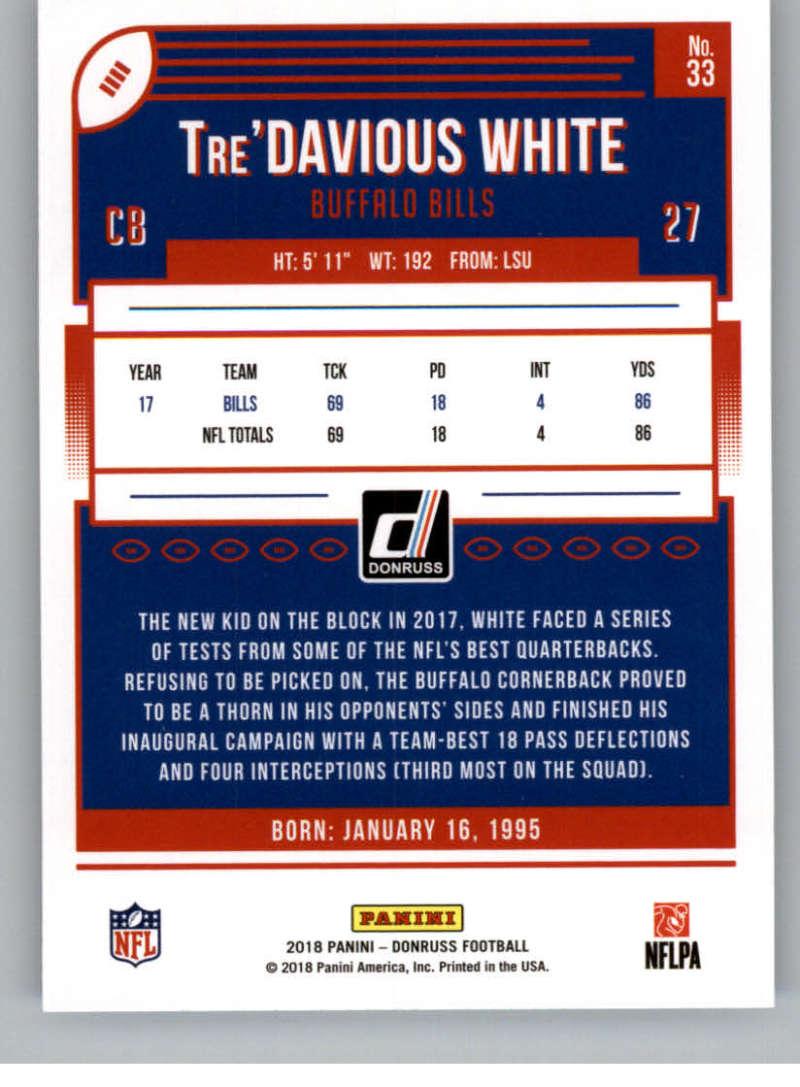 2018-Donruss-Football-Card-Singles-NFL-You-Pick-1-150 thumbnail 63