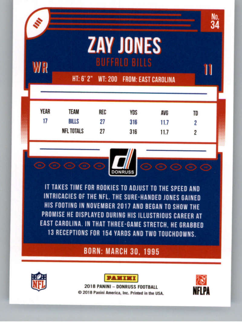 2018-Donruss-Football-Card-Singles-NFL-You-Pick-1-150 thumbnail 65