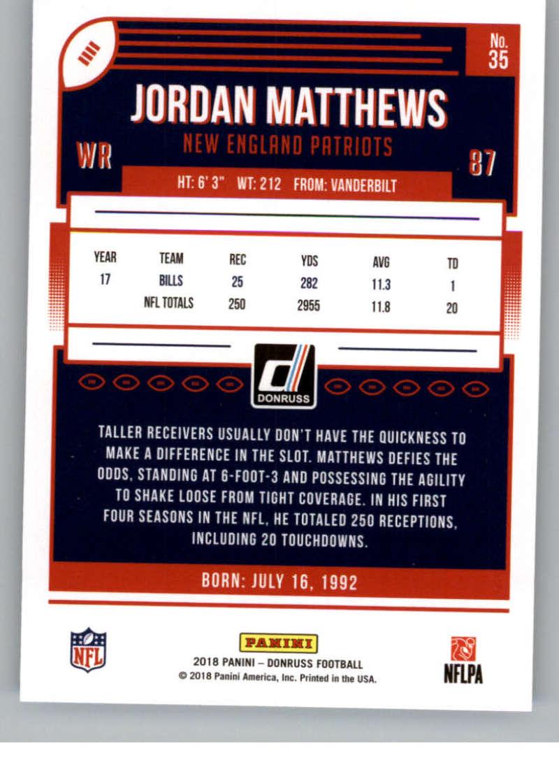 2018-Donruss-Football-Card-Singles-NFL-You-Pick-1-150 thumbnail 67