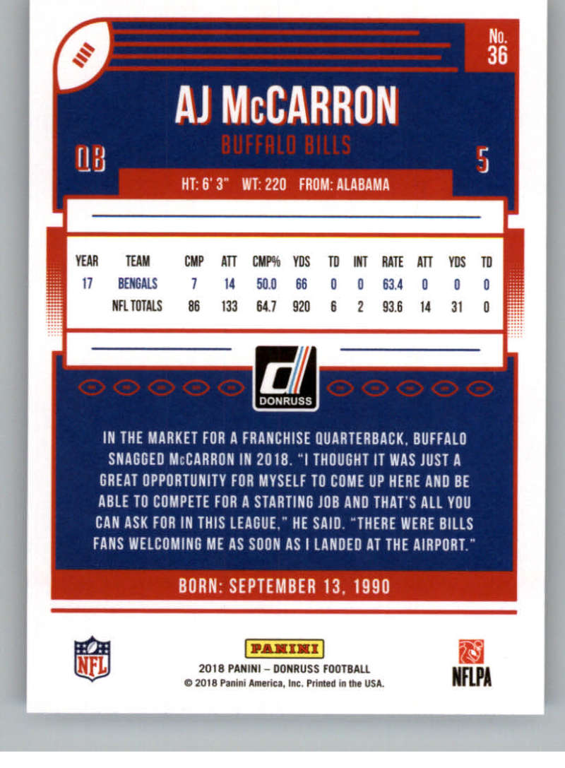 2018-Donruss-Football-Card-Singles-NFL-You-Pick-1-150 thumbnail 69