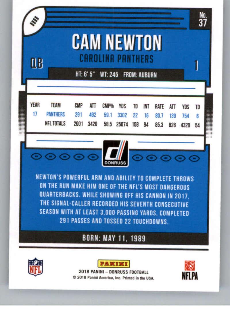 2018-Donruss-Football-Card-Singles-NFL-You-Pick-1-150 thumbnail 71