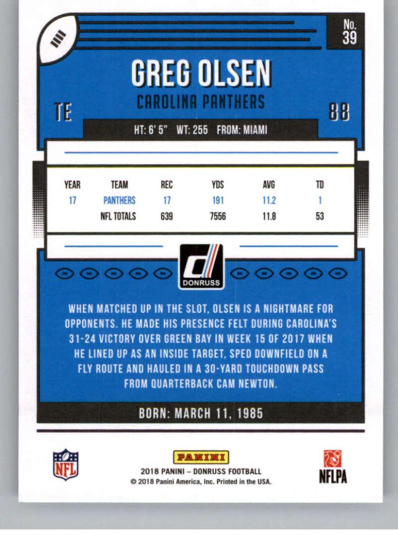 2018-Donruss-Football-Card-Singles-NFL-You-Pick-1-150 thumbnail 75