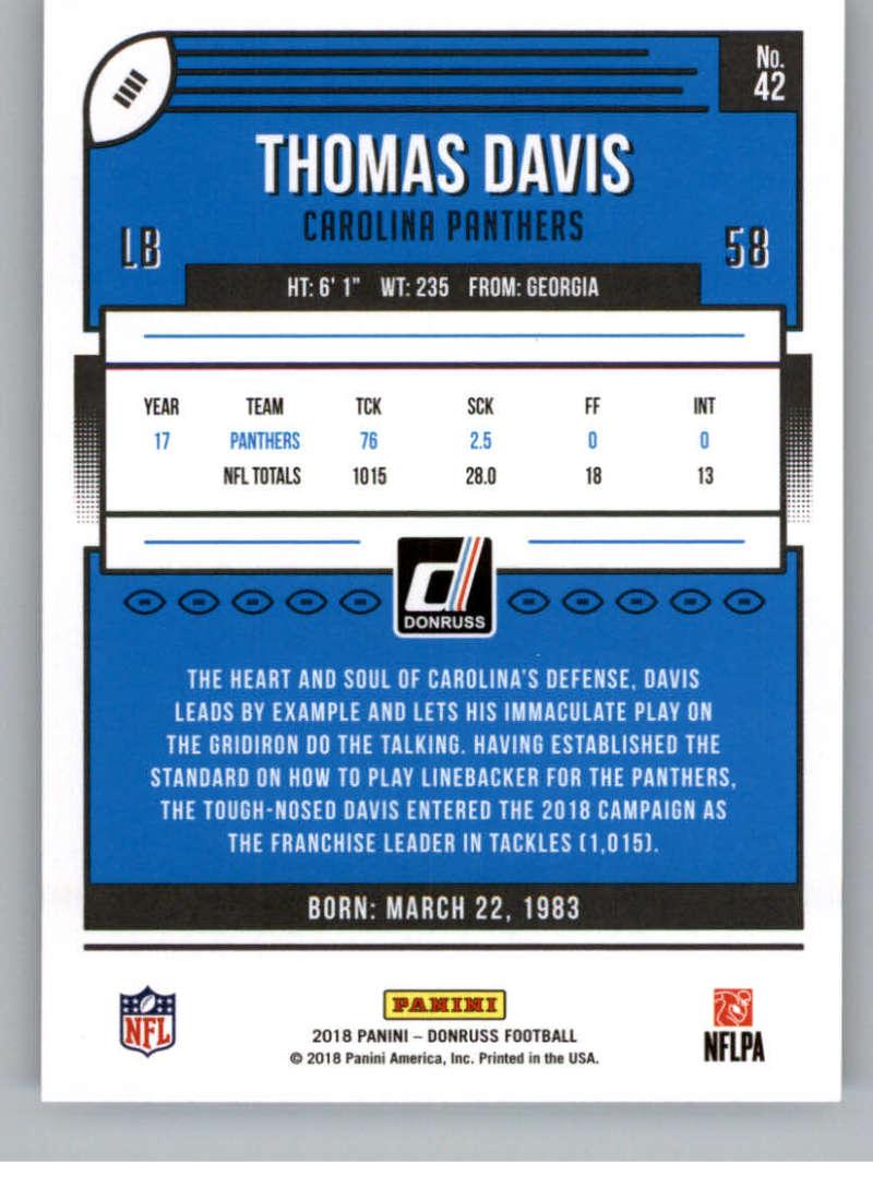 2018-Donruss-Football-Card-Singles-NFL-You-Pick-1-150 thumbnail 79