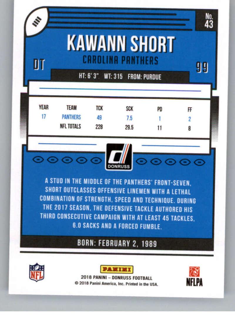 2018-Donruss-Football-Card-Singles-NFL-You-Pick-1-150 thumbnail 81