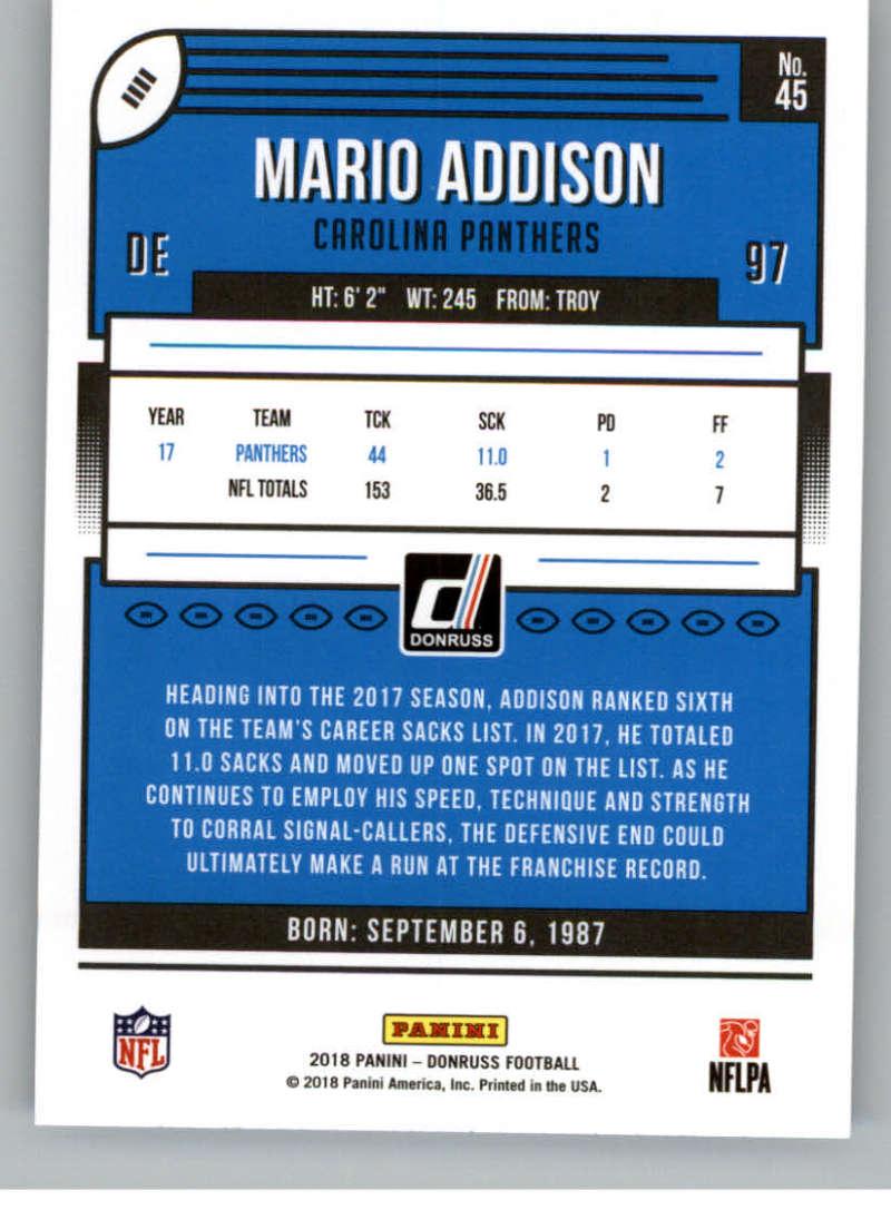 2018-Donruss-Football-Card-Singles-NFL-You-Pick-1-150 thumbnail 85