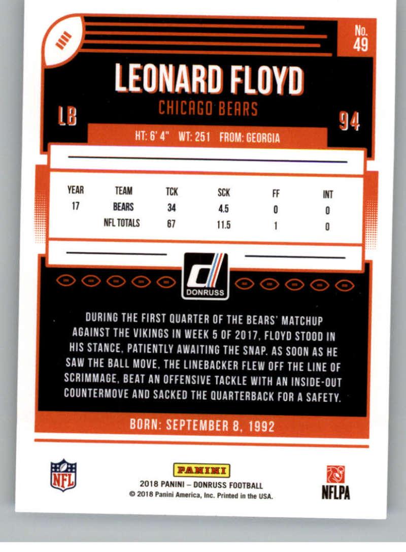 2018-Donruss-Football-Card-Singles-NFL-You-Pick-1-150 thumbnail 91