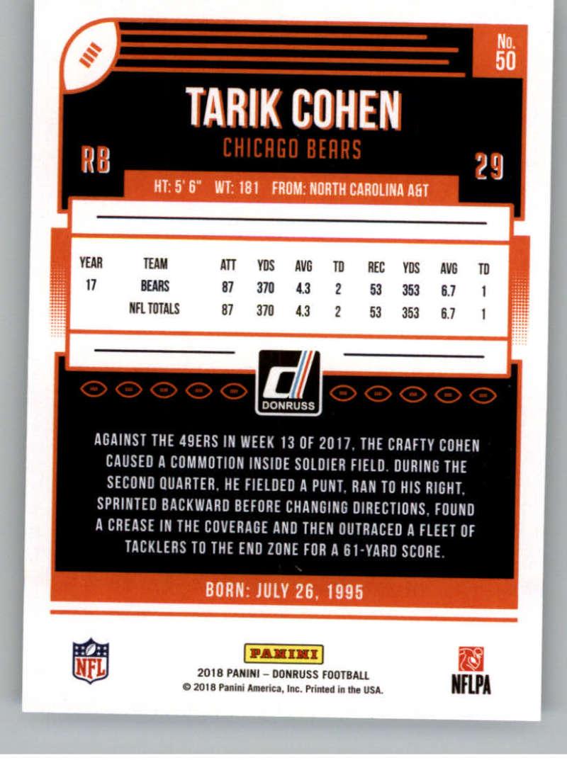 2018-Donruss-Football-Card-Singles-NFL-You-Pick-1-150 thumbnail 93