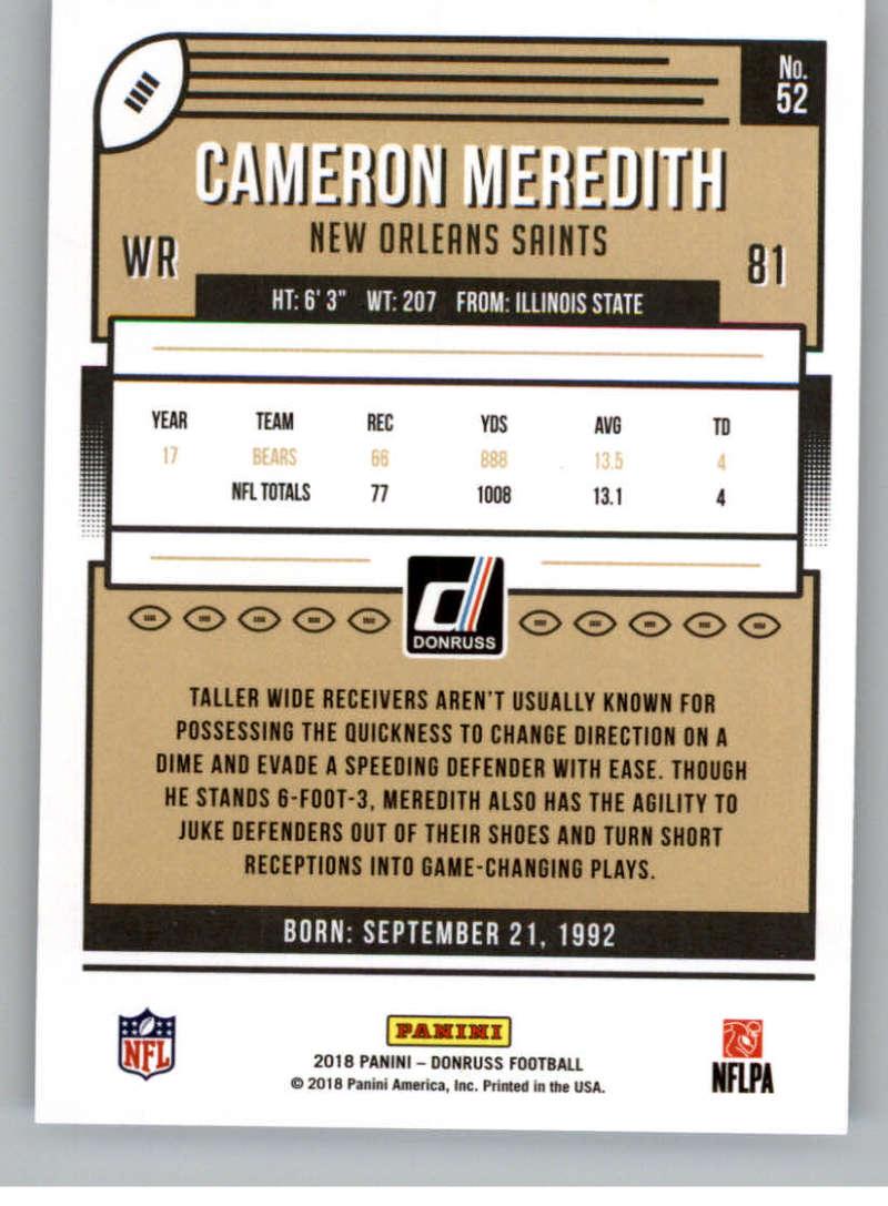 2018-Donruss-Football-Card-Singles-NFL-You-Pick-1-150 thumbnail 97