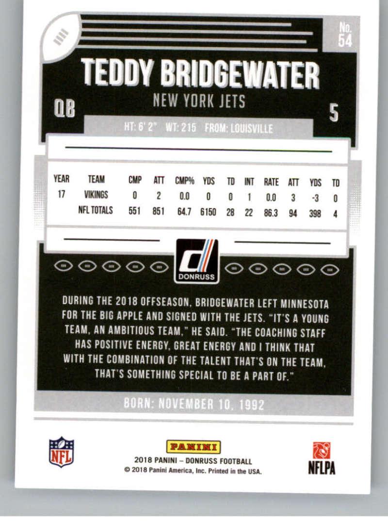 2018-Donruss-Football-Card-Singles-NFL-You-Pick-1-150 thumbnail 101