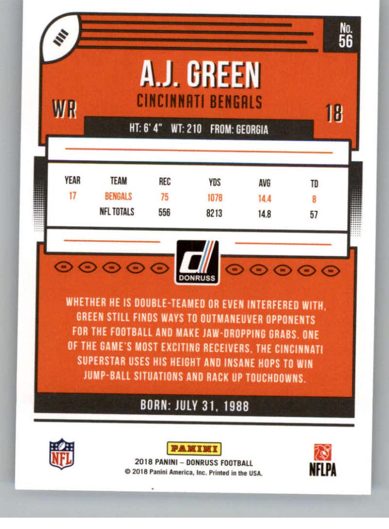 2018-Donruss-Football-Card-Singles-NFL-You-Pick-1-150 thumbnail 105
