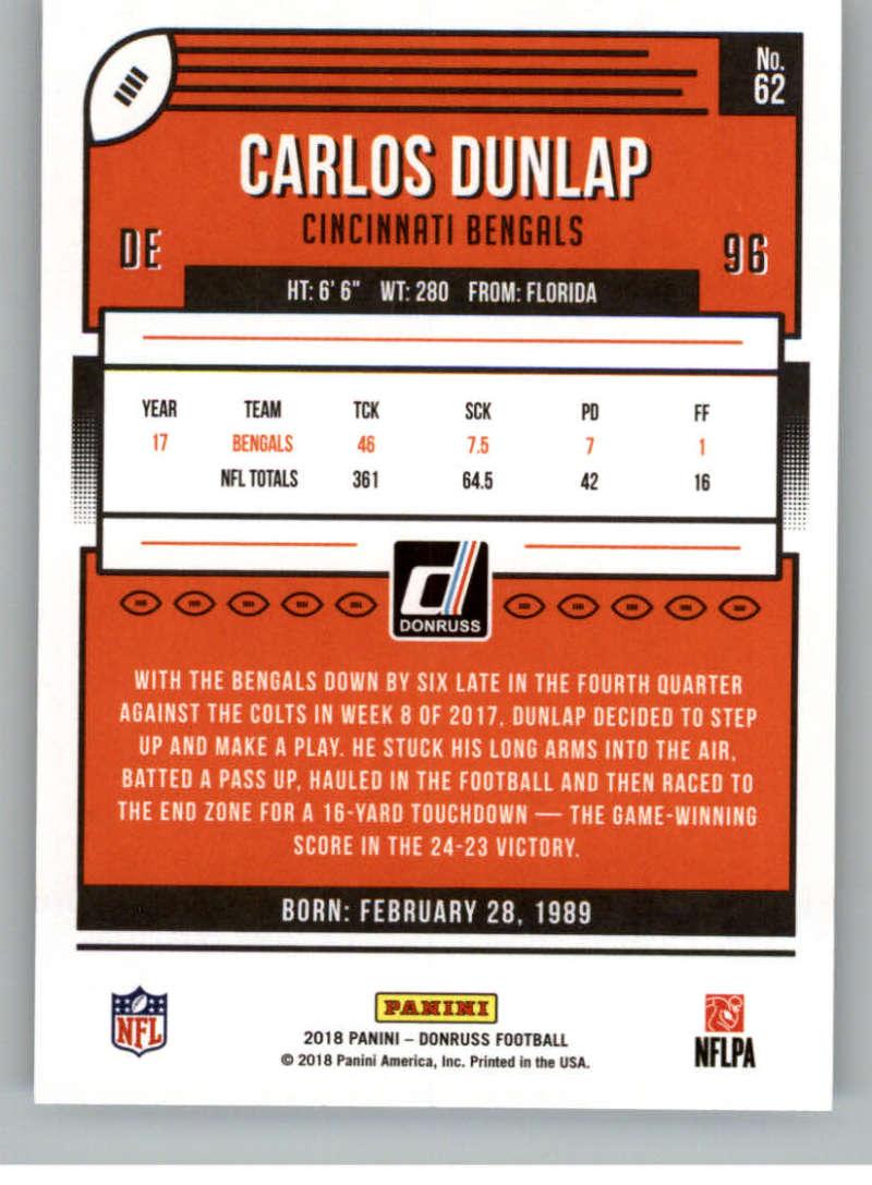 2018-Donruss-Football-Card-Singles-NFL-You-Pick-1-150 thumbnail 117