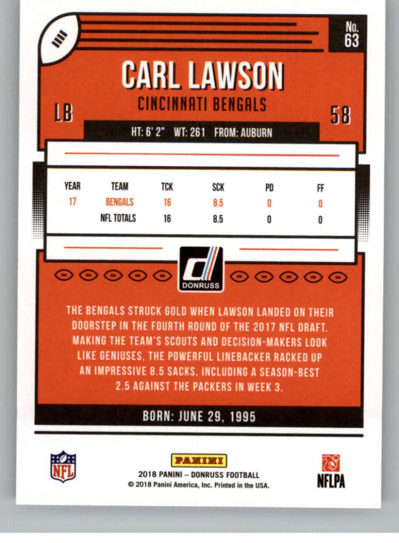 2018-Donruss-Football-Card-Singles-NFL-You-Pick-1-150 thumbnail 119