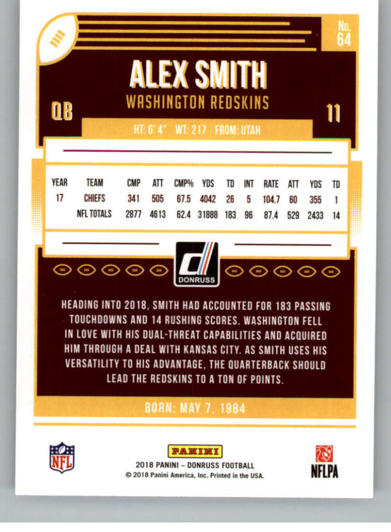 2018-Donruss-Football-Card-Singles-NFL-You-Pick-1-150 thumbnail 121
