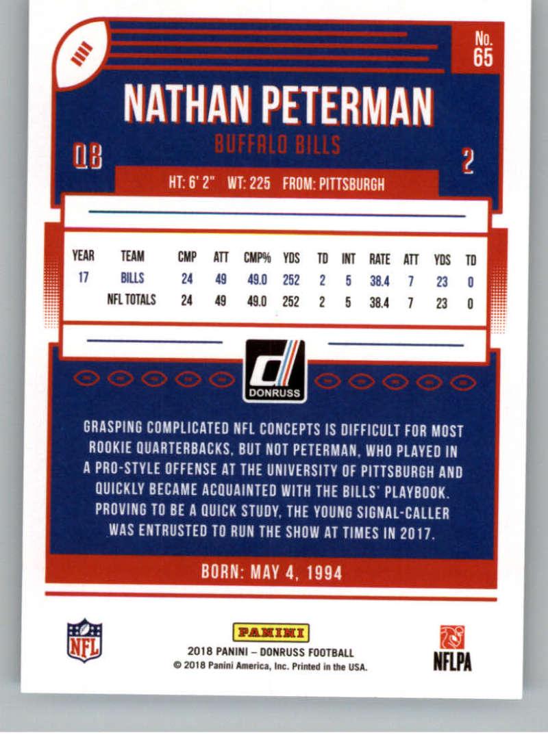 2018-Donruss-Football-Card-Singles-NFL-You-Pick-1-150 thumbnail 123