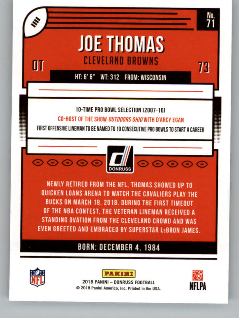 2018-Donruss-Football-Card-Singles-NFL-You-Pick-1-150 thumbnail 135