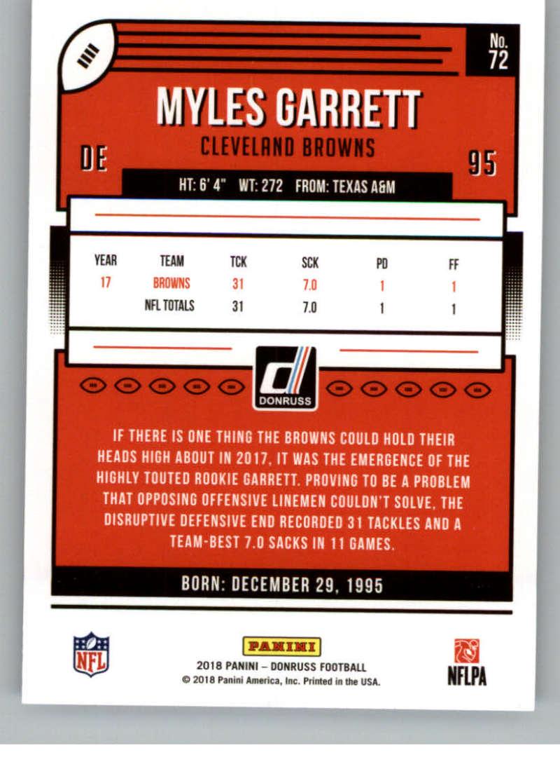 2018-Donruss-Football-Card-Singles-NFL-You-Pick-1-150 thumbnail 137