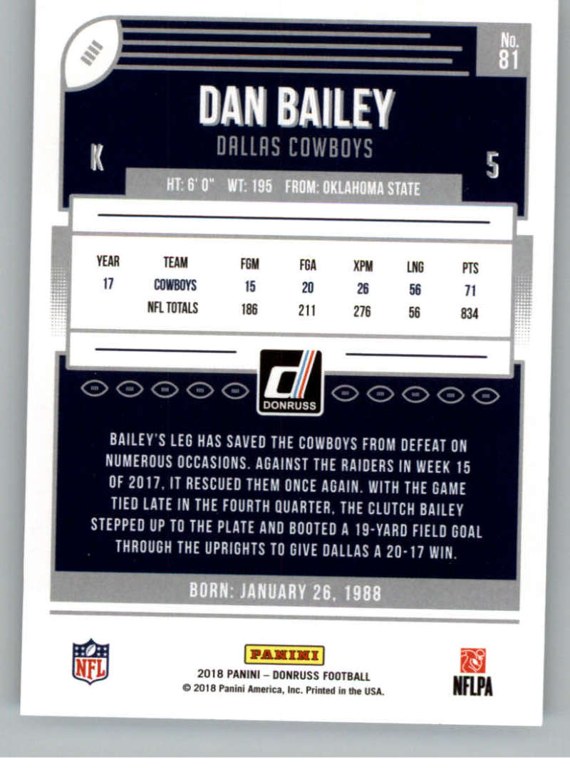 2018-Donruss-Football-Card-Singles-NFL-You-Pick-1-150 thumbnail 151