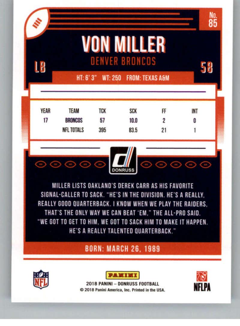 2018-Donruss-Football-Card-Singles-NFL-You-Pick-1-150 thumbnail 155