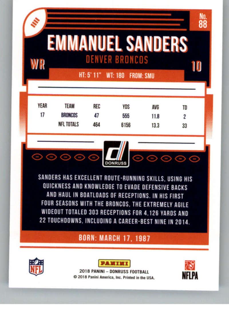 2018-Donruss-Football-Card-Singles-NFL-You-Pick-1-150 thumbnail 161