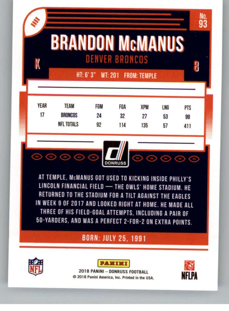 2018-Donruss-Football-Card-Singles-NFL-You-Pick-1-150 thumbnail 171