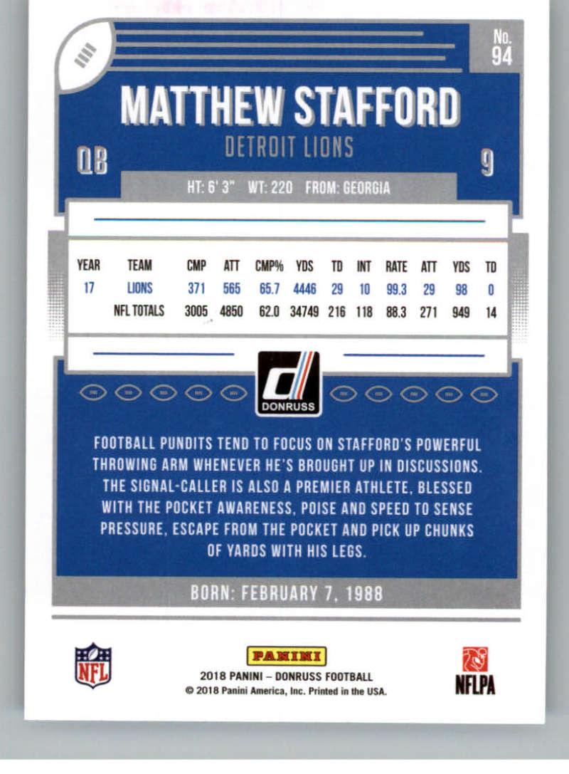 2018-Donruss-Football-Card-Singles-NFL-You-Pick-1-150 thumbnail 173