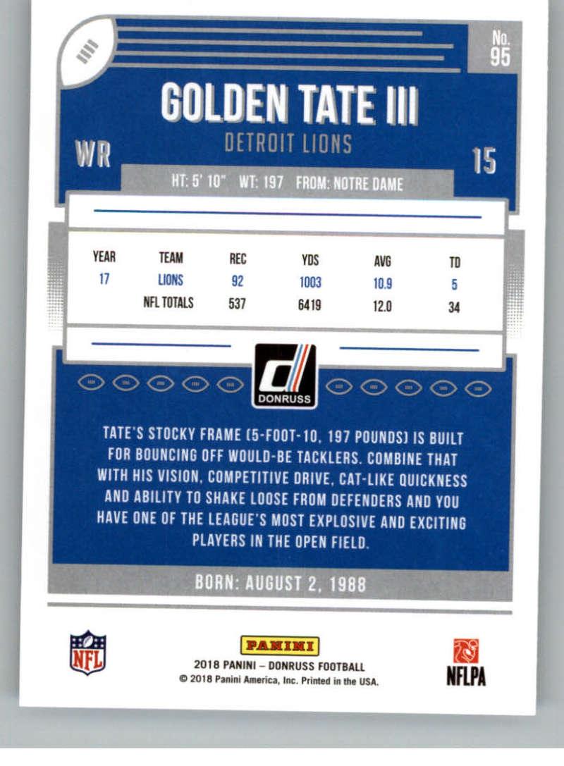 2018-Donruss-Football-Card-Singles-NFL-You-Pick-1-150 thumbnail 175