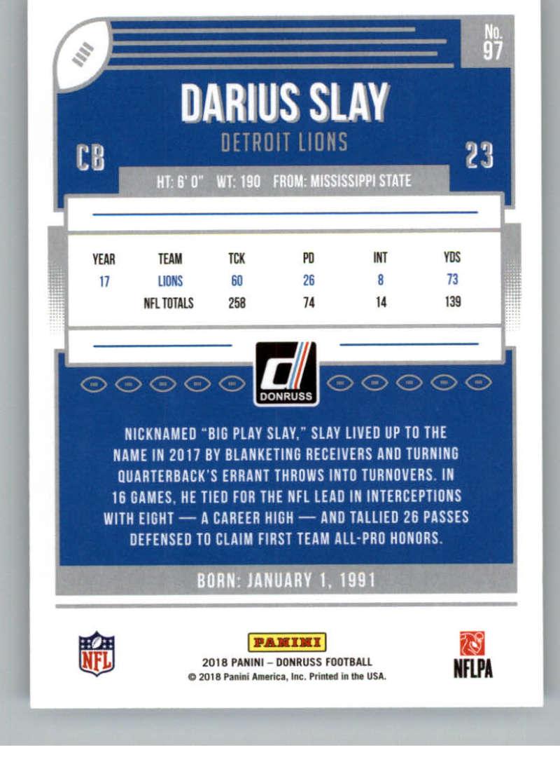 2018-Donruss-Football-Card-Singles-NFL-You-Pick-1-150 thumbnail 179
