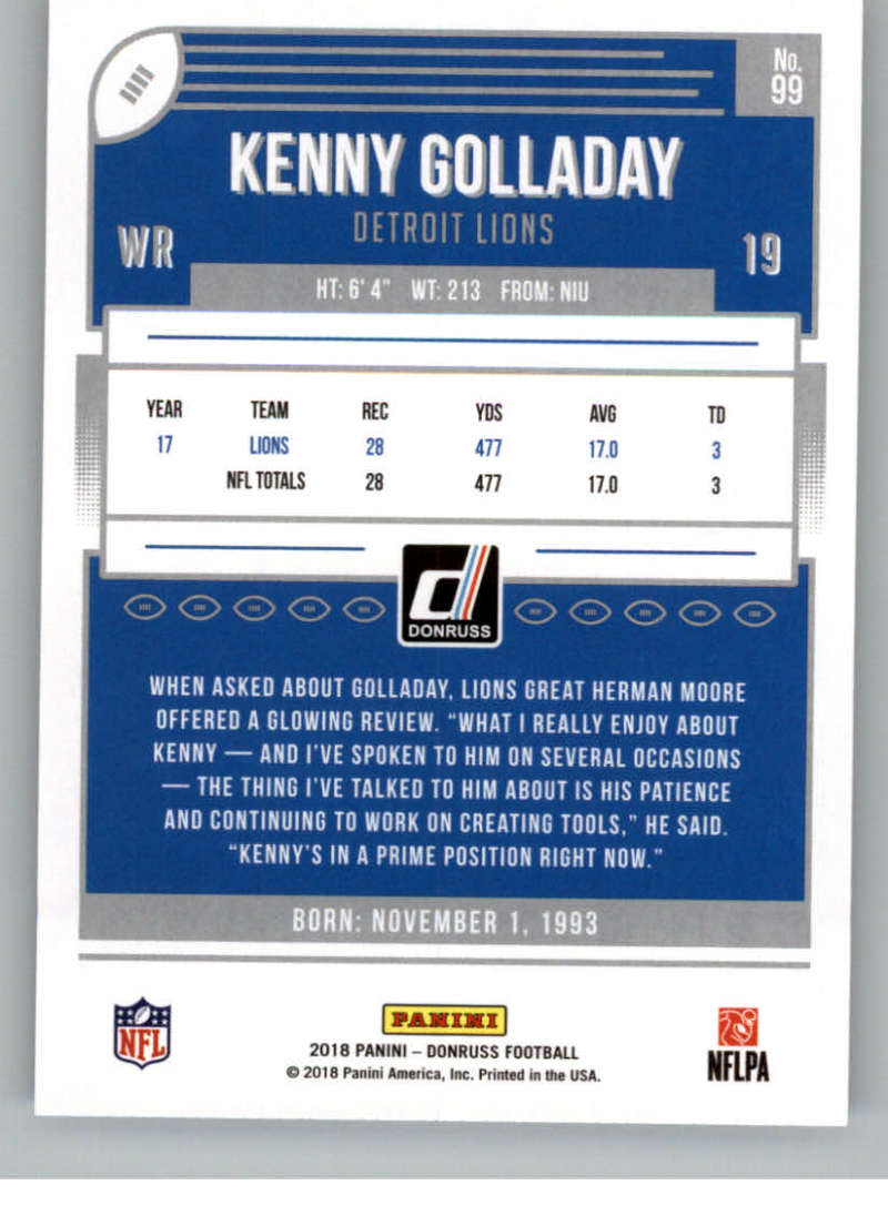 2018-Donruss-Football-Card-Singles-NFL-You-Pick-1-150 thumbnail 183