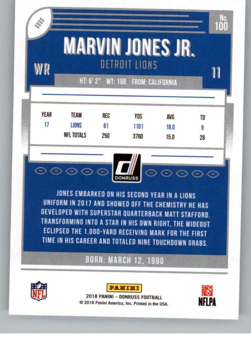 2018-Donruss-Football-Card-Singles-NFL-You-Pick-1-150 thumbnail 185