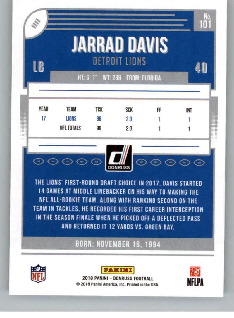 2018-Donruss-Football-Card-Singles-NFL-You-Pick-1-150 thumbnail 187