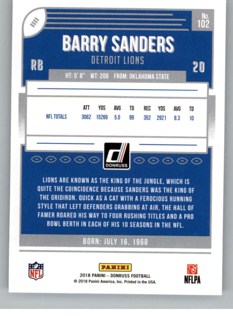 2018-Donruss-Football-Card-Singles-NFL-You-Pick-1-150 thumbnail 189