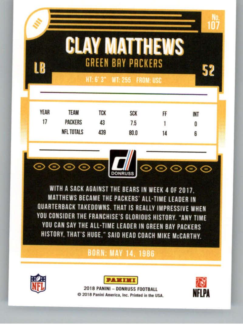 2018-Donruss-Football-Card-Singles-NFL-You-Pick-1-150 thumbnail 197