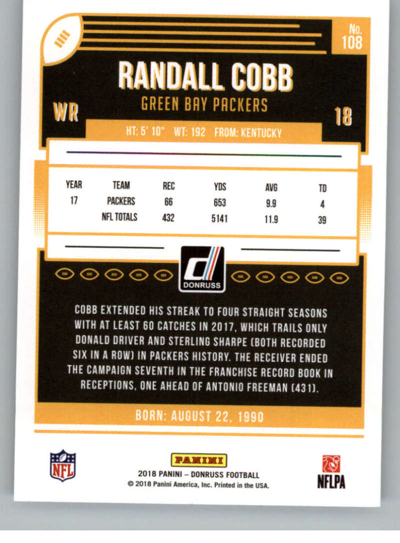 2018-Donruss-Football-Card-Singles-NFL-You-Pick-1-150 thumbnail 199