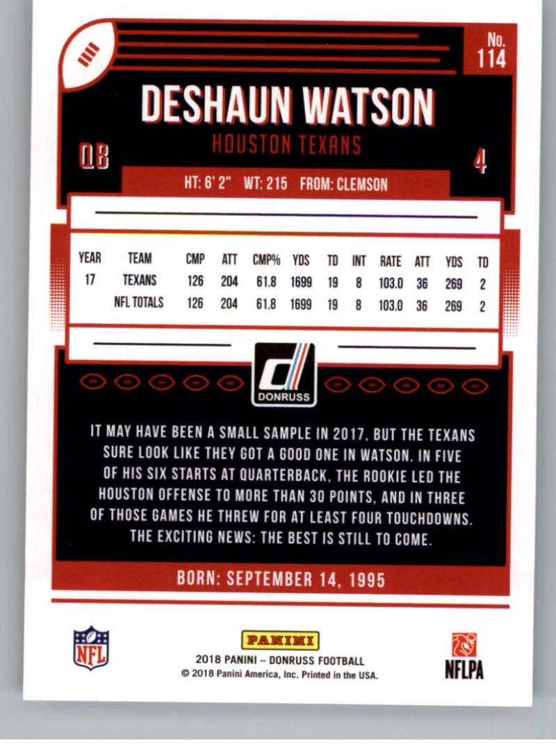 2018-Donruss-Football-Card-Singles-NFL-You-Pick-1-150 thumbnail 207