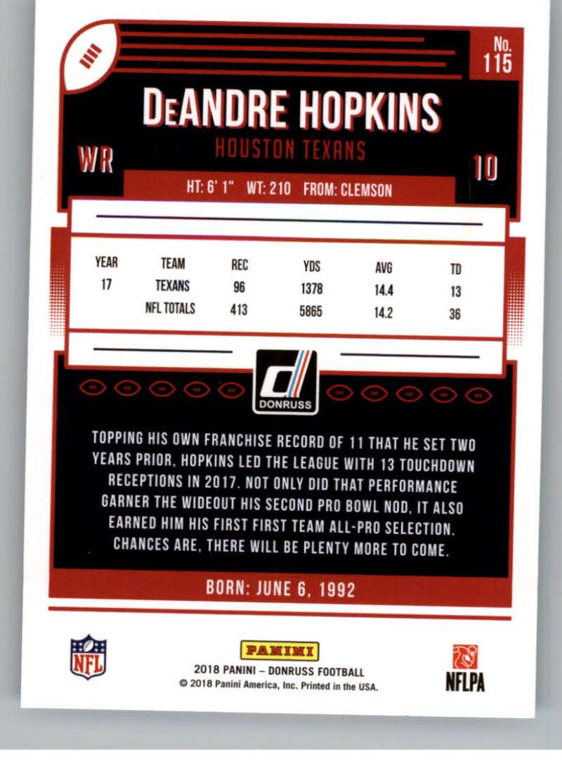 2018-Donruss-Football-Card-Singles-NFL-You-Pick-1-150 thumbnail 209